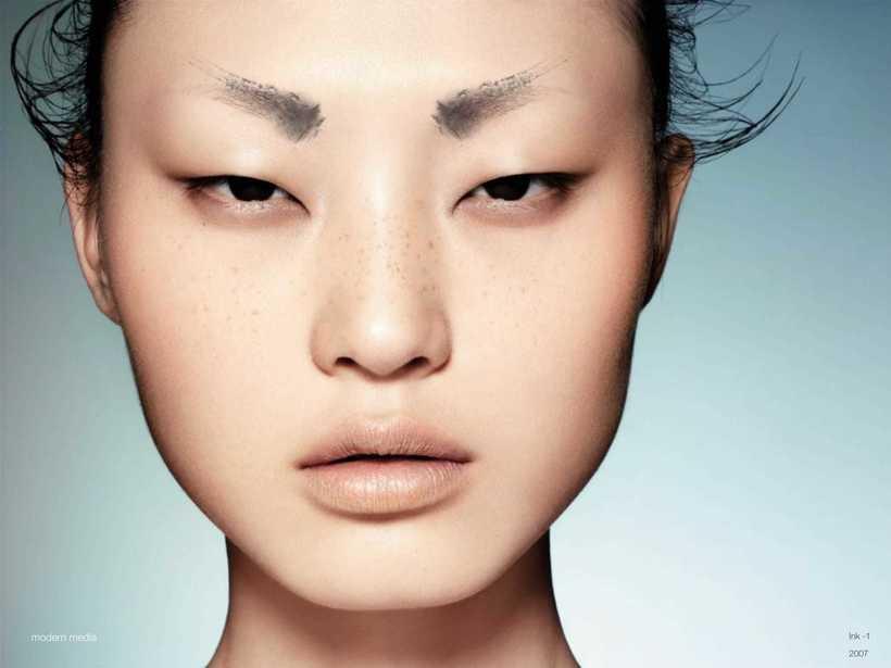 Почему у китайцев, корейцев и японцев узкие глаза глаза,интересное,красота,народы,планета,расы