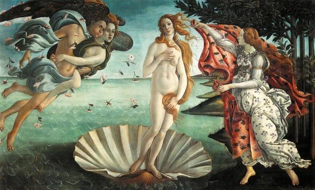 Как на картинке: модели воссоздали классические обнаженные полотна