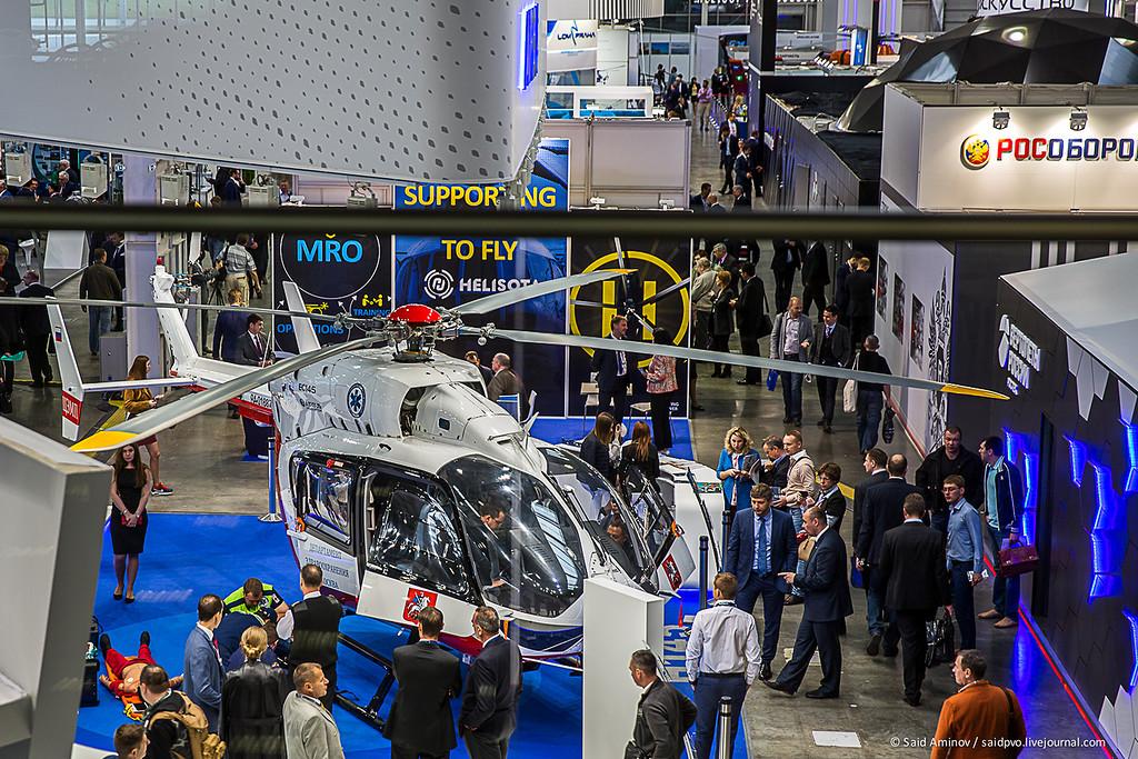 Репортаж с выставки HeliRussia-2017
