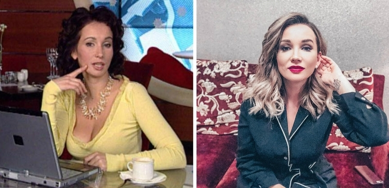 Экранные знаменитости в начале карьеры и сейчас