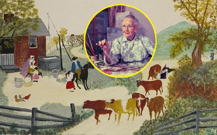 Как примитивная живопись Бабушки Мозес повлияла на ход холодной войны