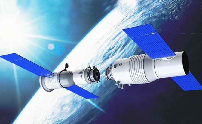 Китайская орбитальная станция «Небесный дворец» упадет на Землю завтра