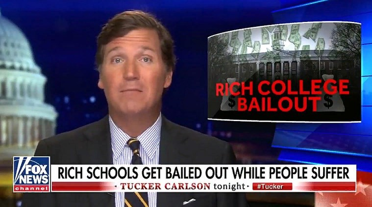 Fox News вскрыл коррупционные схемы в Минобразования США коррупция,США,университеты