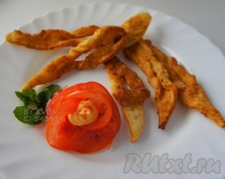 Картофельный хворост. Закуска из картофеля
