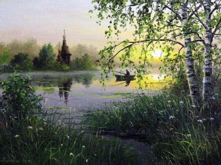 художник Сергей Курицын картины – 18