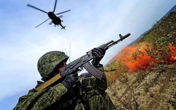 Внезапные учения армии РФ со…