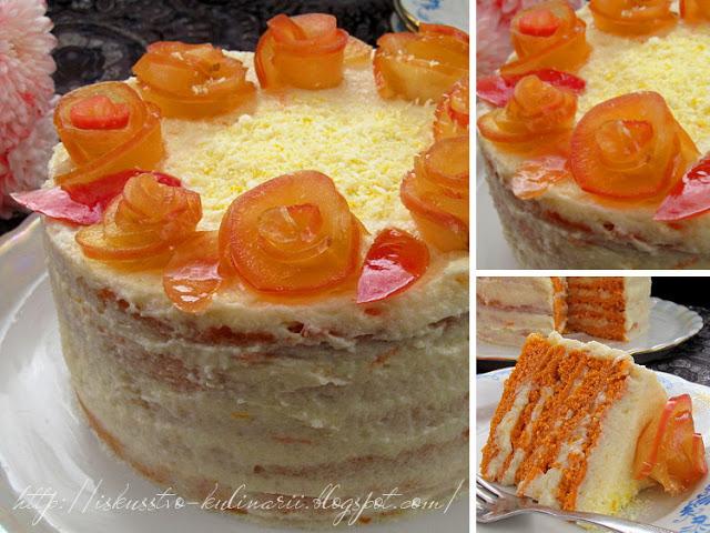 Необычный и вкусный тортик «Рыжая Галинка»