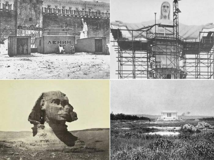 10 великих мест — о том как они менялись со временем интересное, история, фотографии