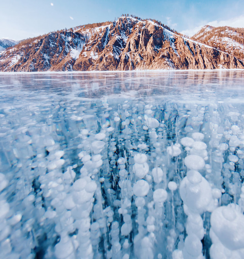 Замерзший Байкал: красота самого глубокого и древнего озера на Земле!