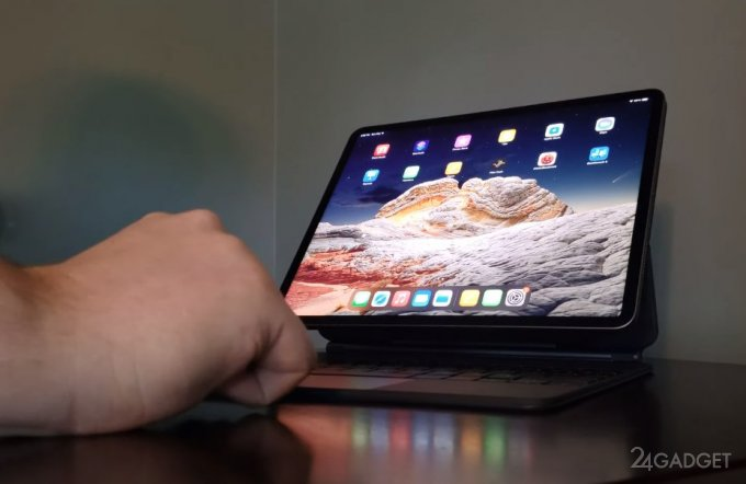 Видео распаковки нового iPad Pro с экраном mini-LED