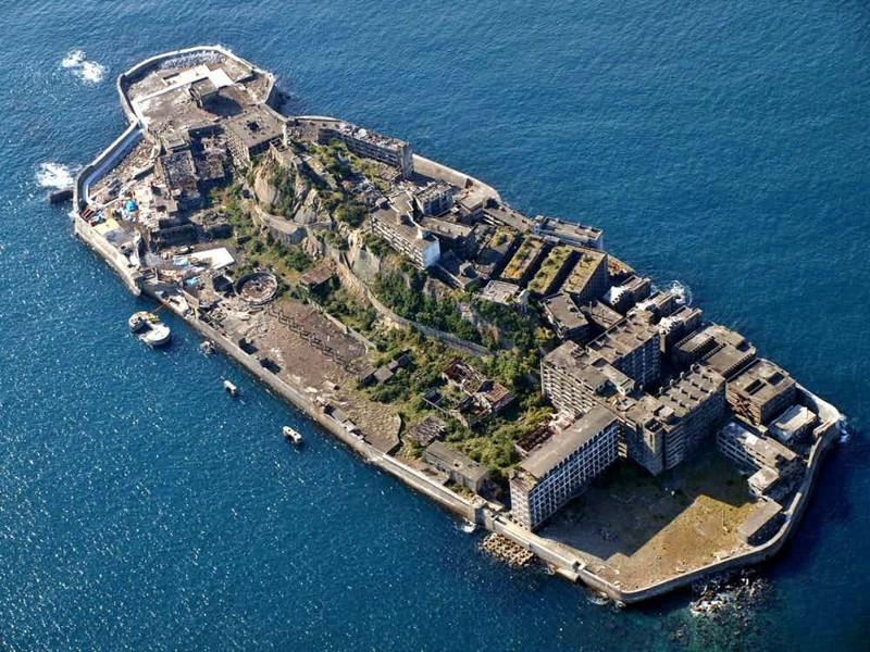 "Хасима - ""остров-крейсер"" страшные места, страшные места на земле, страшные места на земле фото"