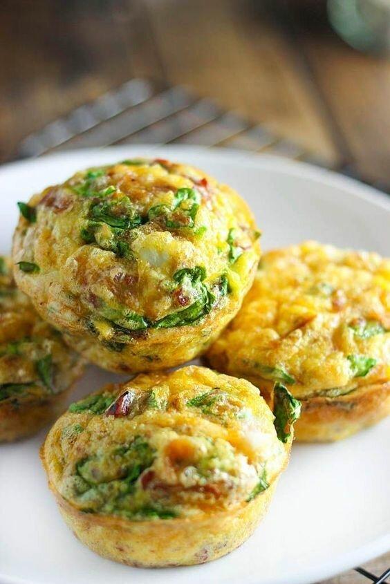 Кексики-омлет с капустой - перемешайте капусту, яйца, бекон (да что угодно), немного муки и в формочки, запечь длиннопост, еда, капуста, картинки, на заметку, приготовь, рецепт