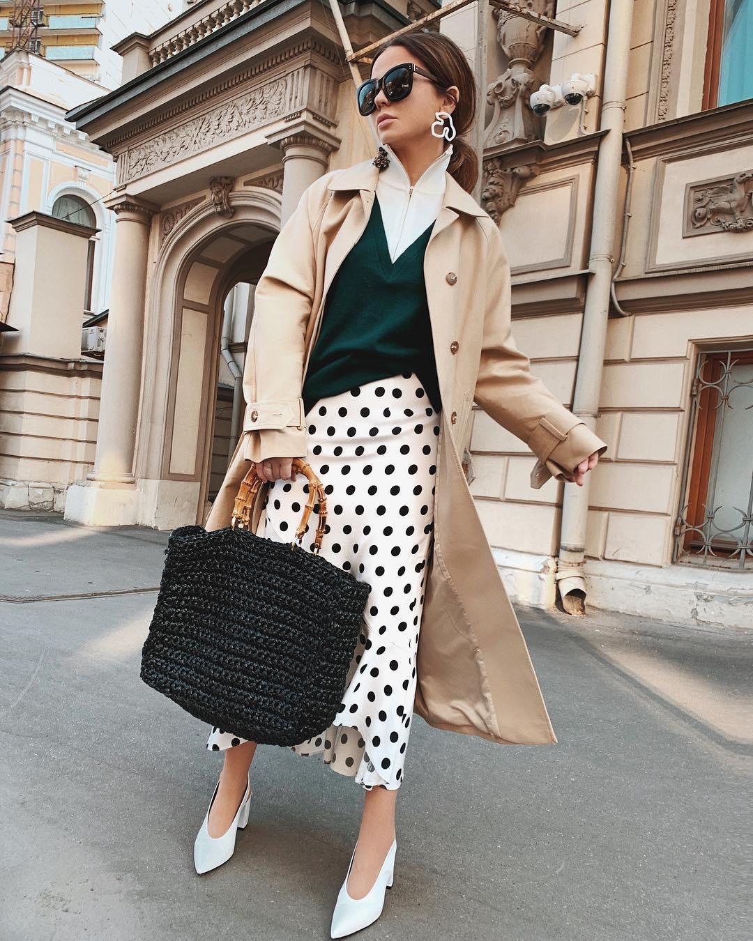 Модные плащи осени 2019 - трендовые модели для модниц мода,модный обзор,образ,осень 2019,стиль,тренды