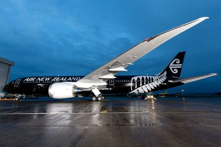 Air New Zealand останавливает Boeing 787-9 из-за коррозии металла