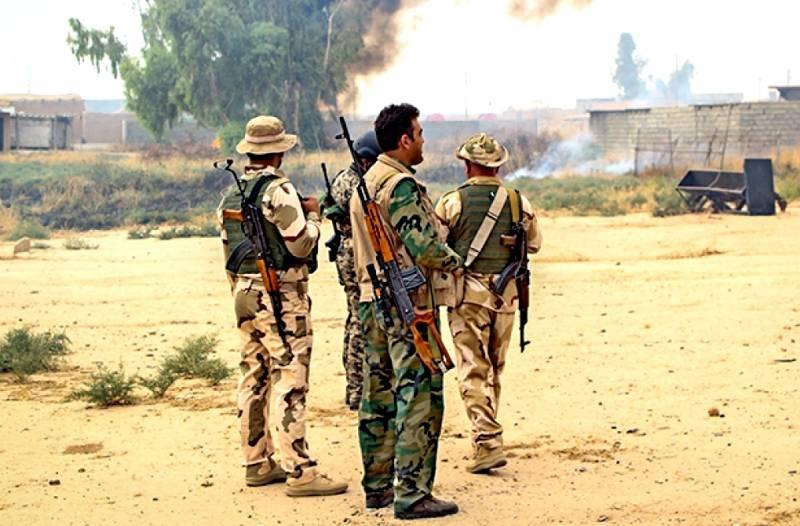 Неудачная контратака ИГИЛ в районе границы с Ираком