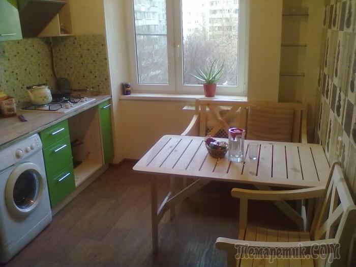 Моя кухня: до ремонта и после