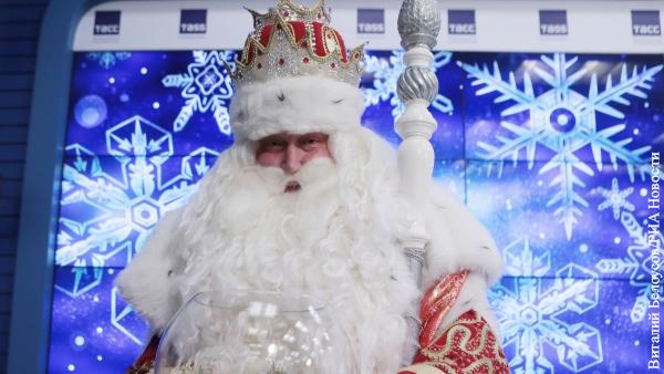 Дед Мороз сказал, что хотел бы подарить Путину