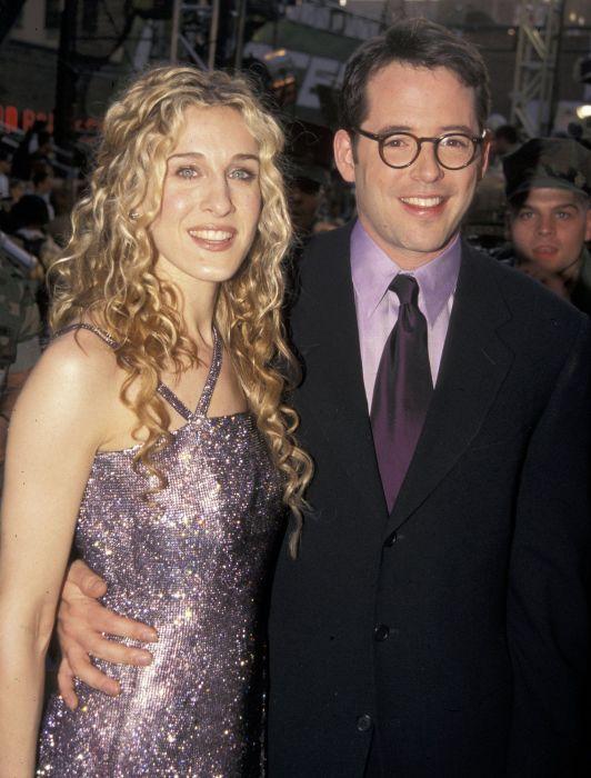 Сара Джессика Паркер и Мэттью Бродерик. / Фото: www.yimg.com
