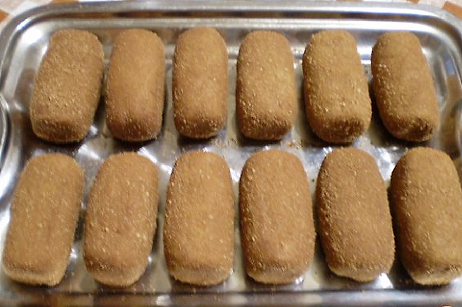 Пирожное картошка из печенья видео