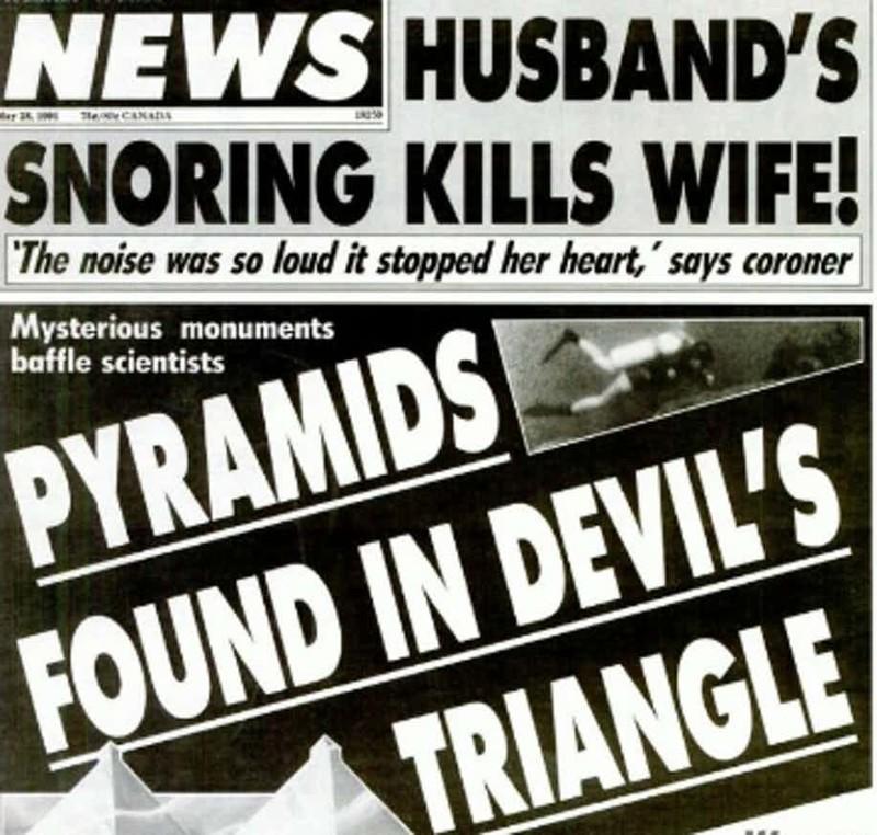 Мнение скептиков Бермудский треугольник, аномалии, теории