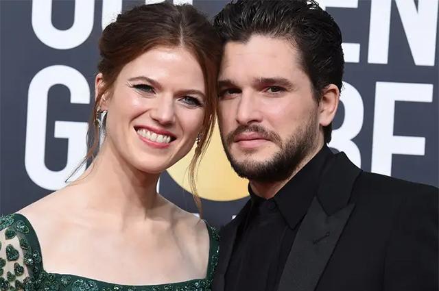 Кит Харингтон и Роуз Лесли впервые станут родителями Звездные пары