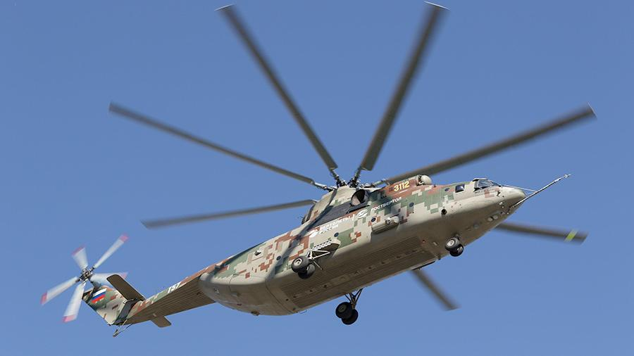 Самый тяжелый в мире транспортный вертолет Ми-26Т2В станет арктическим