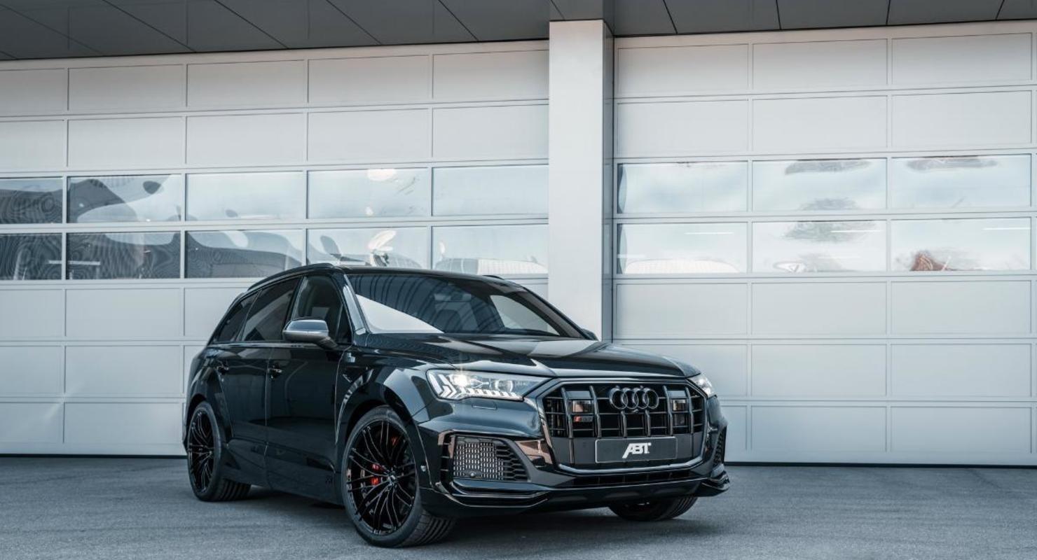 Тюнеры ABT представили «заряженный» Audi SQ7 Автомобили