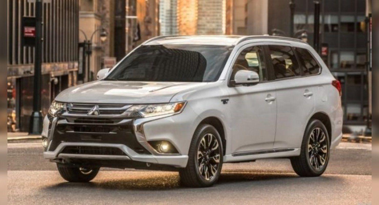 Скоро представят новый Mitsubishi Outlander Автомобили