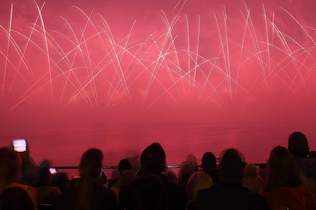 Как прошел пятый международный фестиваль фейерверков