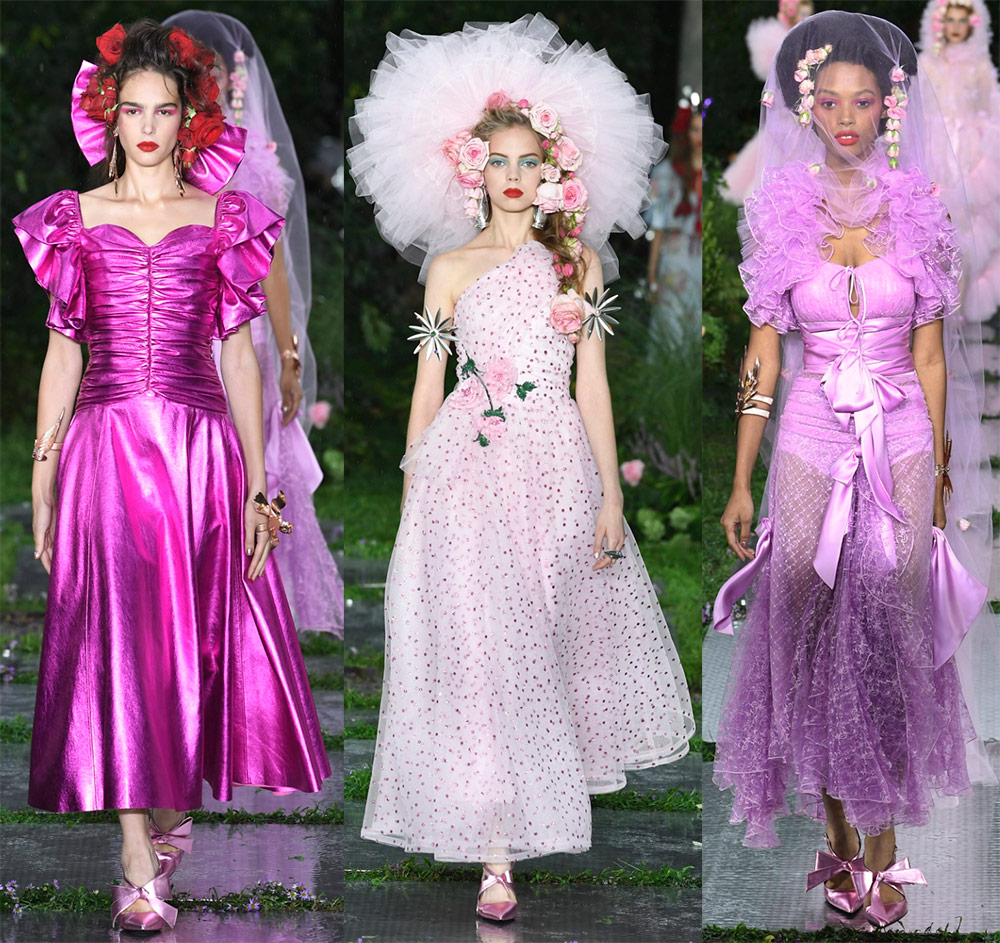Платья и комбинезоны для модной принцессы 2019 от Rodarte лучшее