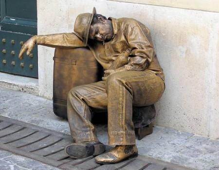 Живые статуи со всего мира