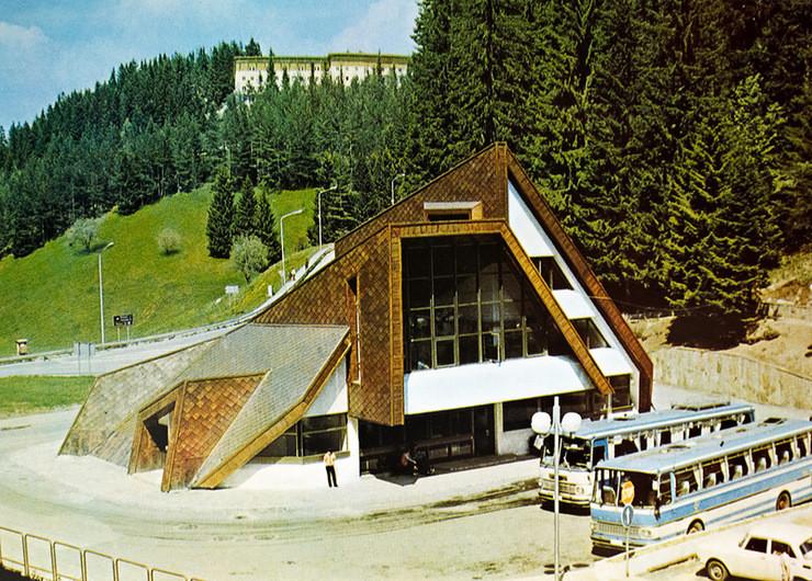 1987 г., Пампорово автовокзал: СССР, болгария, быт, история, это интересно
