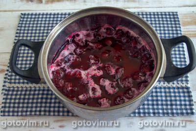 Варенье из вишни с перцем чили, Шаг 05