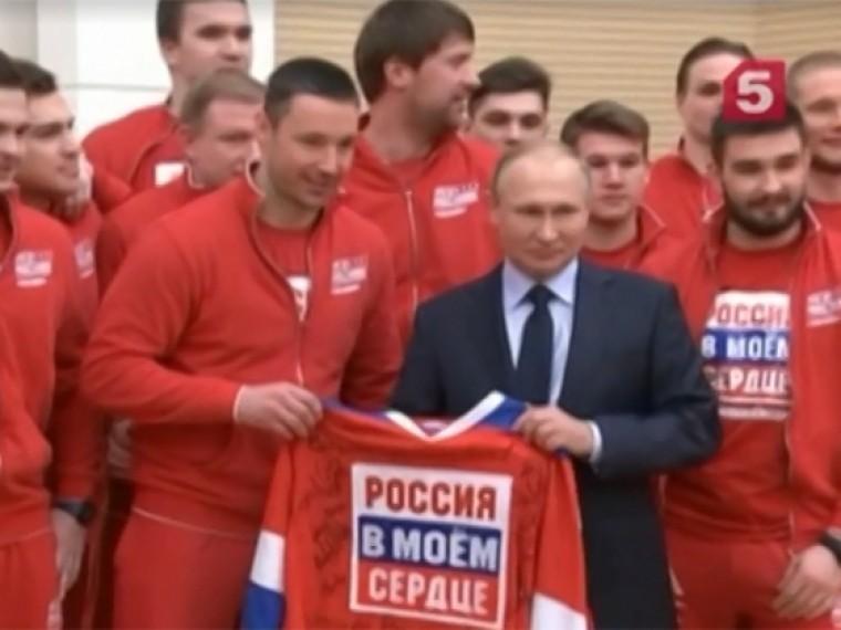 Песков сообщил, что встреча Путина сроссийскими олимпийцами уже готовится