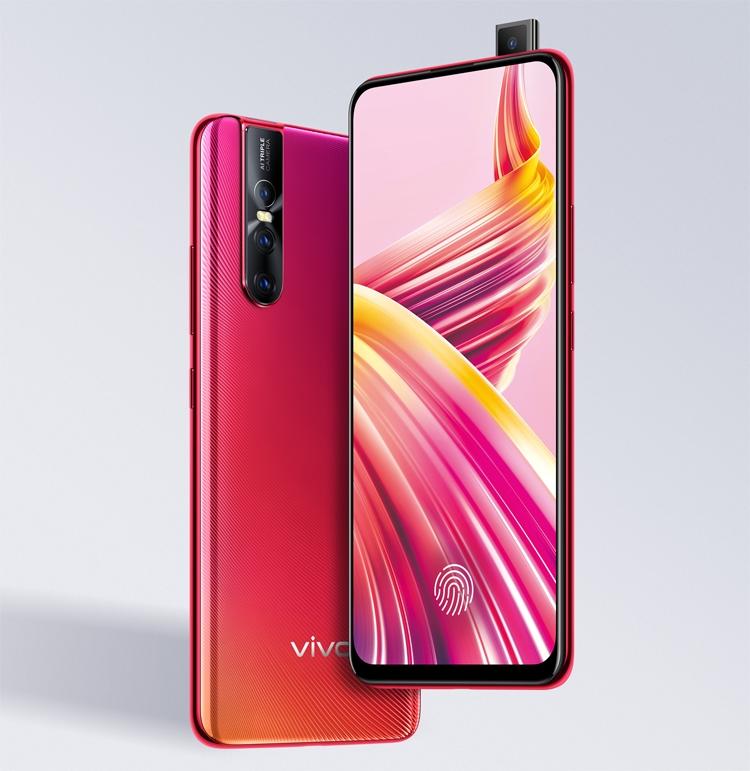 Смартфон Vivo V15Pro с выдвижной камерой выходит в России по цене 33 990 рублей новости