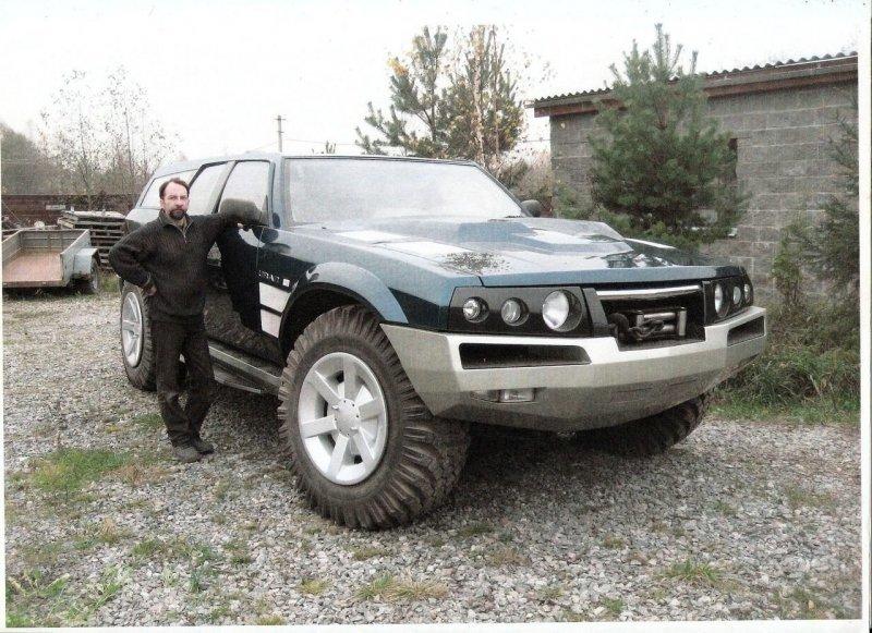 Нереально крутой самодельный российский внедорожник «Уран» сдвигателем отБРДМ авто и мото,БРДМ,самоделки,«Уран»