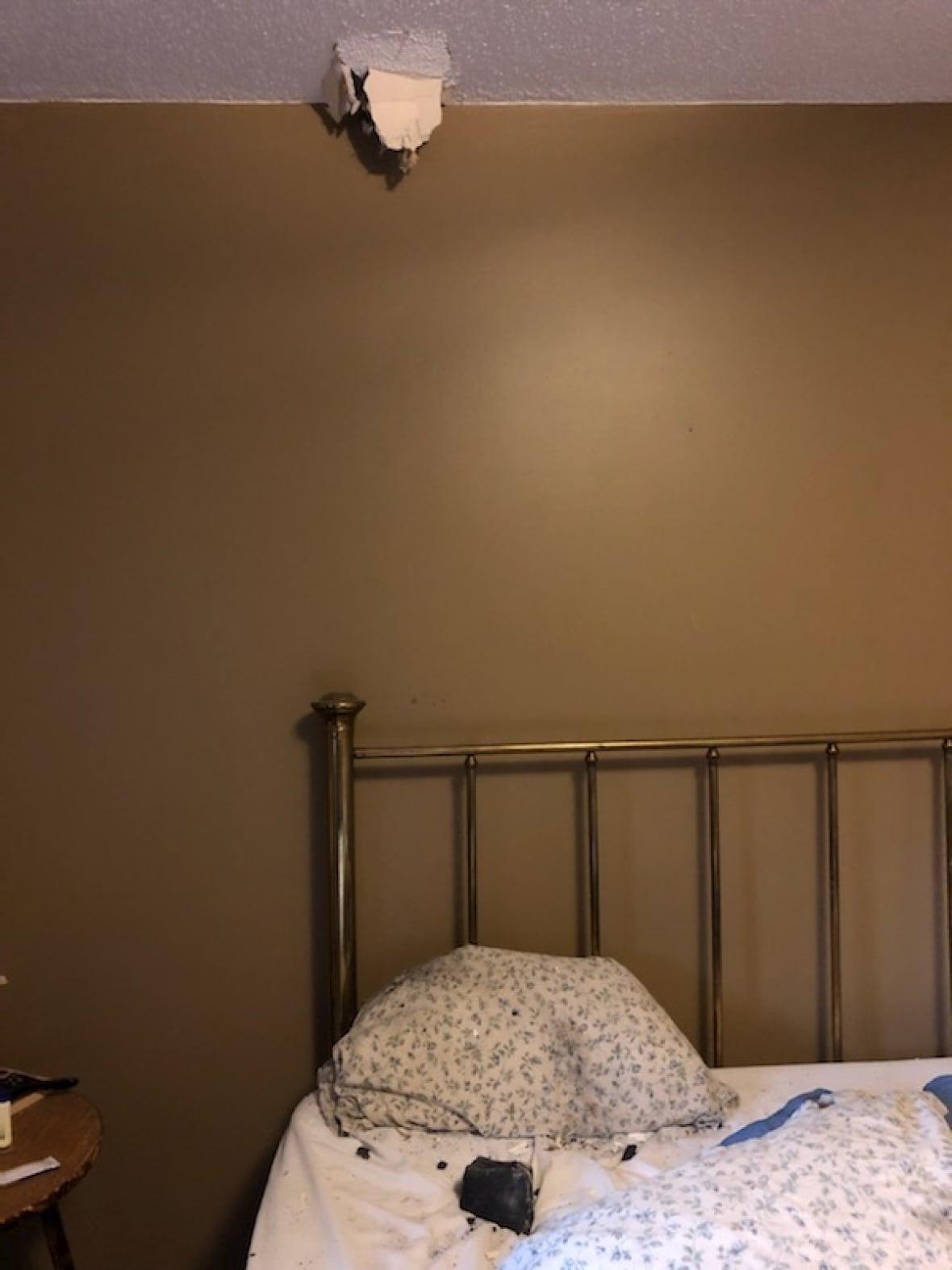 Жительница Канады проснулась от хлопка по подушке. Рядом лежал камень, который прилетел из космоса Культура