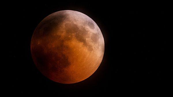 Лунное затмение 21 января 2019: