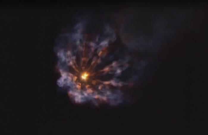 Новое видео миссии SpaceX вы…