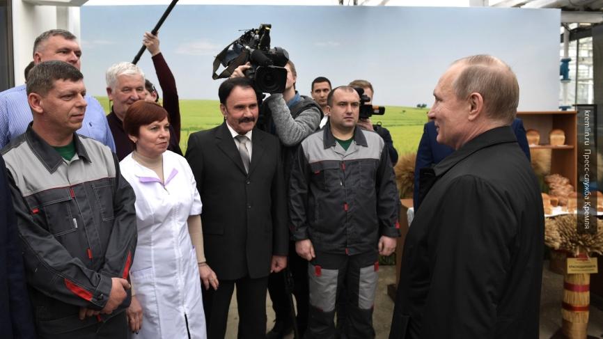 Путин пообещал вывести Россию в лидеры агропромышленного рынка