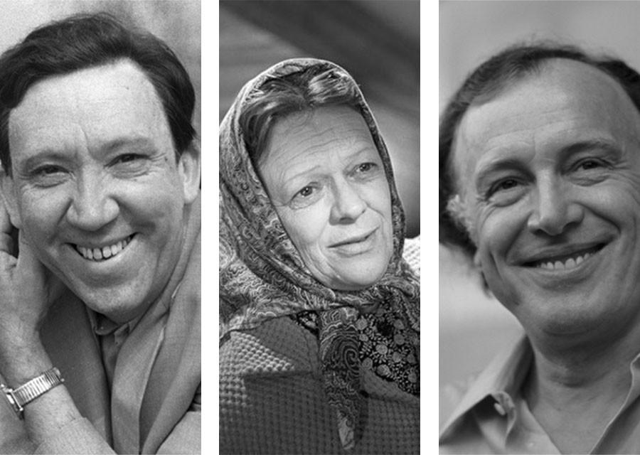 Популярные советские актёры,…