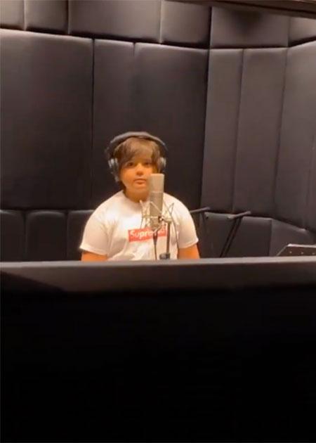11-летний сын Эмина Агаларова записал свой первый трек в стиле рэп Дети,Дети знаменитостей