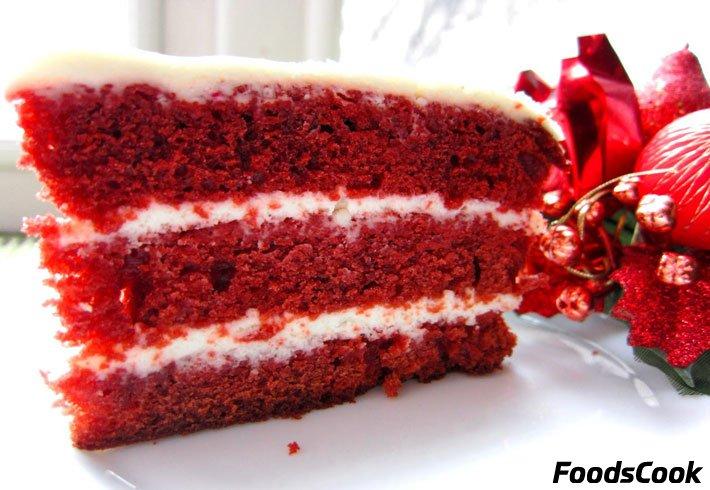 торт красный бархат рецепт с фото оригинальный рецепт