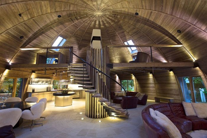 Купольные дома покоряют мир архитектуры: плюсы и минусы нестандартных построек архитектура,достоинства и недостатки,купольные дома