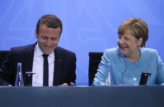 Макрон и Меркель планируют с…