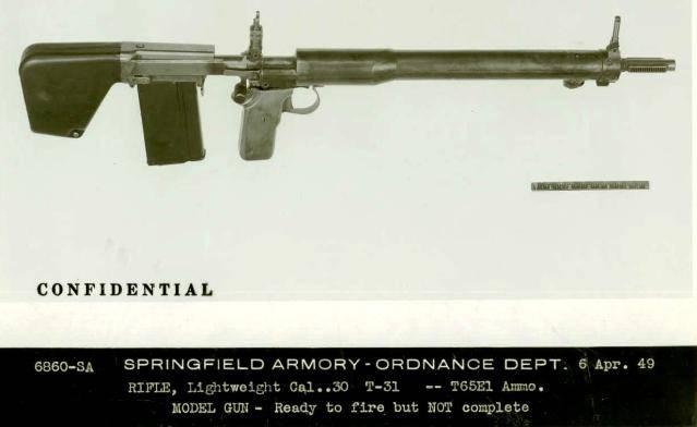 Автоматическая винтовка T31. Последняя разработка Дж.К. Гаранда оружие