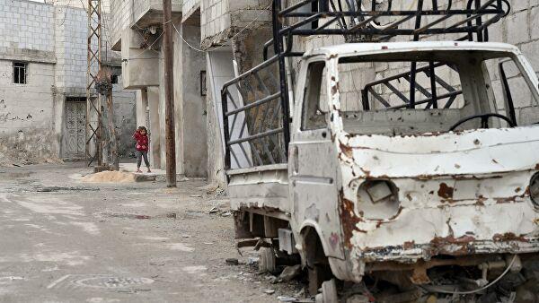 При пожаре в лагере беженцев в Сирии погибли четыре человека