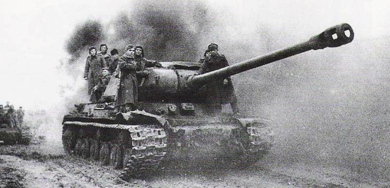 Танки ИС-2 и Tiger. Война на бумаге и в реальности авто и мото,автоновости,военная техника