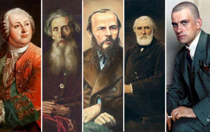Знаменитые русские литератор…