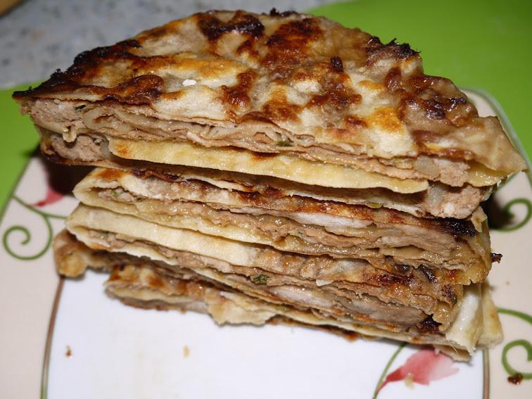 Китайские лепешки с мясом «Роу Бинг»